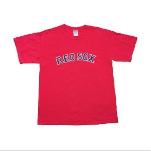Vintage Graphic Tee Shirt Red Sox Size Large